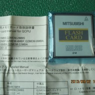 PLC FLASH CARD Q2MEM-2MBF