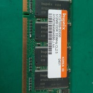 MEMORY 512MB PC2700S-25330 DDR 333MHz (중고)
