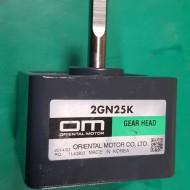 GEAR HEAD 2GN25K (미사용품)
