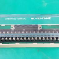 INTERFACE TERMINAL BL-762-TB40P (A급-미사용품)