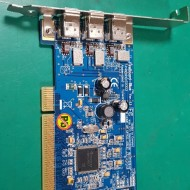 FIREBOARD-BLUE PCI 3PORT 1394A CARD 207-0062 V1.1 (A급-미사용품)
