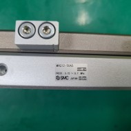(A급-미사용) SMC TABLE CYLINDER MXQ12-50AS 테이블 실린더