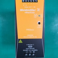 (WEIDMULLER) POWER SUPPLY PRO ECO 240W 24V 10A 파워서플라이 (중고)